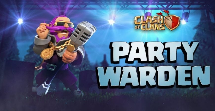 Party Warden Gets The Party Started! (Clash of Clans August Season Challenges) by Clash of Clans