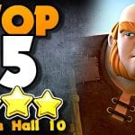 TOP 5 BEST Town Hall 10 Attack Strategies by ECHO Gaming