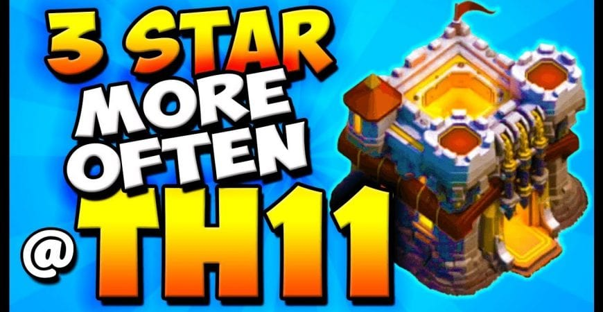 How To 3 STAR at TH11 – Town Hall 11 Attack Strategy – Clash of Clans – COC by Clash with Cory