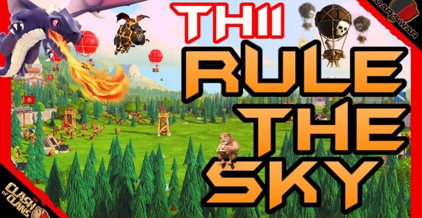Top TH11 Air Attacks | Clash of Clans by Roar's War