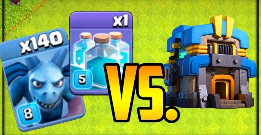 140 CLONED Minions vs. TH12 Clash of Clans Fix That Rush Episode 44 by Galadon Gaming