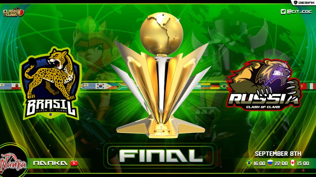 Clash International Tournament - Russia vs Brazil - @CIT_COC