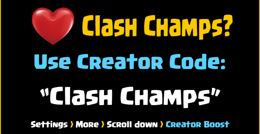 Clash of Clans Creator Boost!