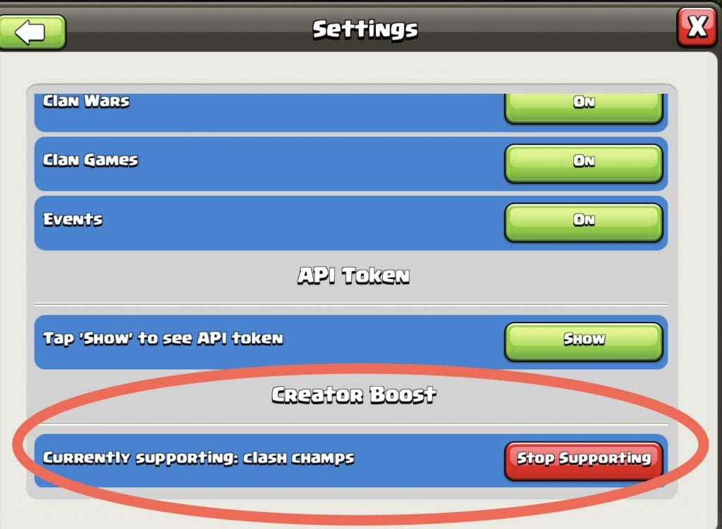 clash of clans creator boost