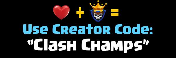 creator code clash champs