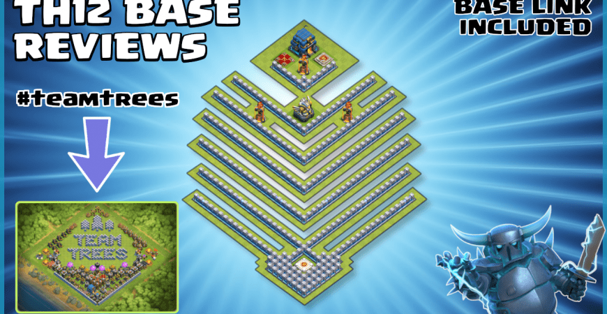 *TEAM TREES* NEW TH12 Legend League & War Base Review – #teamtrees – Clash of Clans by Sir Moose Gaming