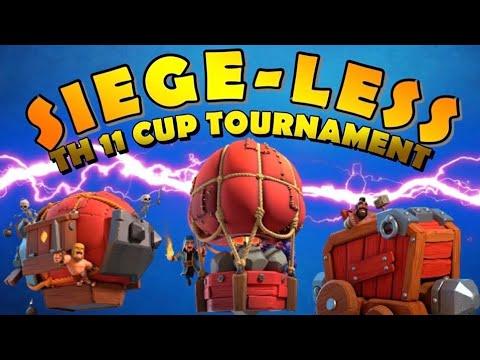 SIEGELESS – BEST TH11 NO SIEGE MACHINE Attack Strategies – TH11 Cup Tournament – Clash of Clans by Clash with Eric – OneHive