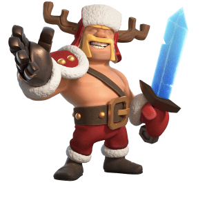 Jolly Barbarian King - Town hall 13 revealed!
