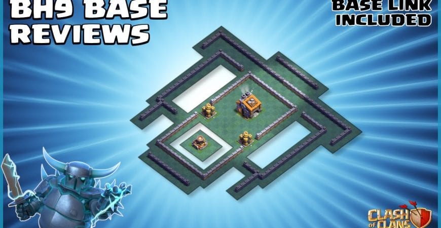 BEST Builder Hall 9 (BH9) Base *WITH LINK* – Anti 2 Star – Clash of Clans – #9 by Sir Moose Gaming