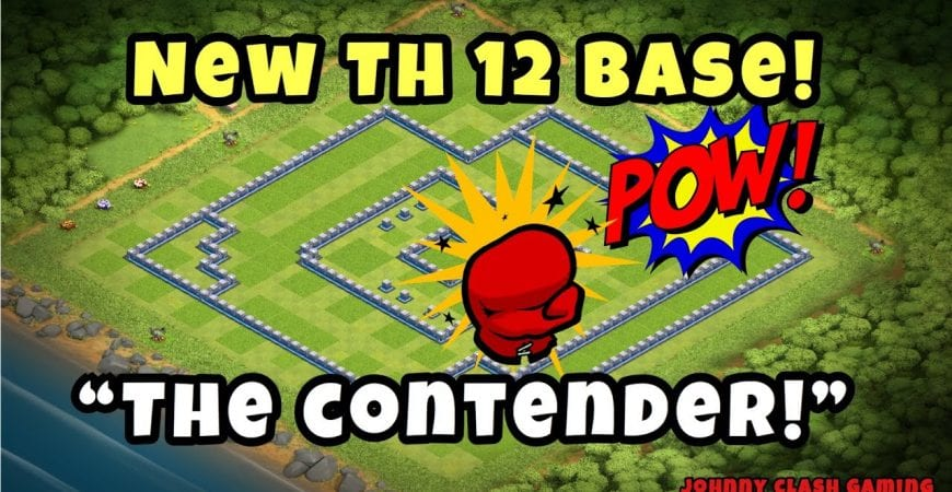 Best New TH 12 War/CWL/Legends Base | Anti-3 Star! | Clash of Clans 2019 by Johnny Clash Gaming