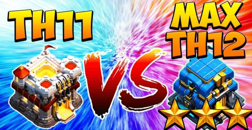 TH11 BATSLAP CRUSHES MAX TH12! CLASH OF CLANS | 3 STAR by Clash with Cory