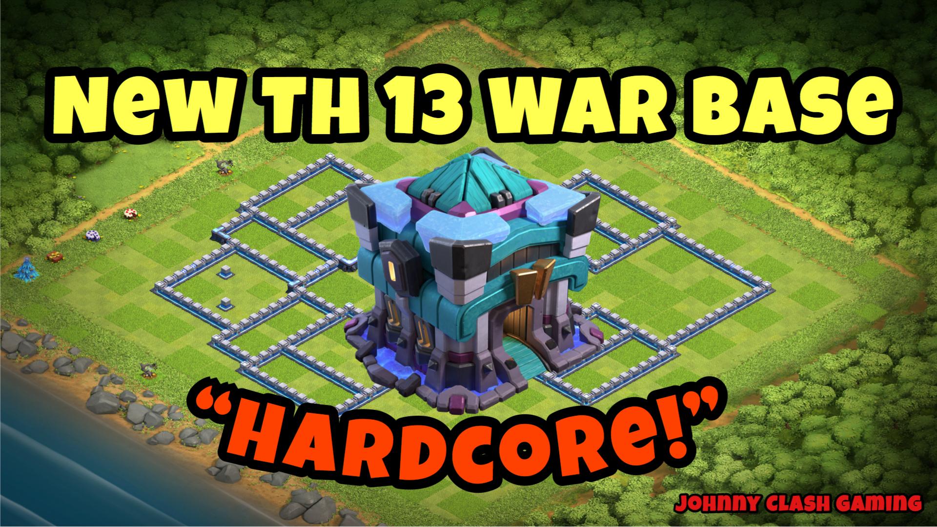 Nova Base De Guerra Th 13 Com 4 Replays Estrela Anti 3 Clash