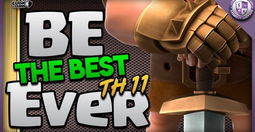 Learning To Be A Better TH11 | Clash Of Clans by Scrappy Academy