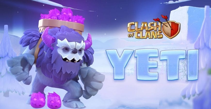 Meet the YETI! (Clash of Clans Town Hall 13) by Clash of Clans