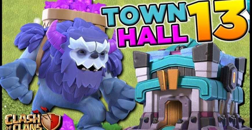 NEW Troop with Town Hall 13! Yeti Gameplay | Clash of Clans by CarbonFin Gaming