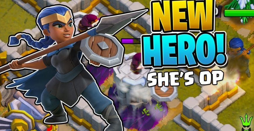 THIS NEW ROYAL CHAMPION HERO IS OP! – Town Hall 13 – Clash of Clans by Clash Bashing!!