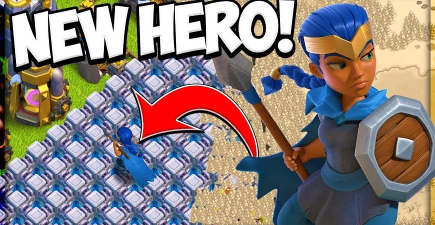 New Royal Champion Hero for Town Hall 13 in the Clash of Clans Update by Clash Attacks with Jo