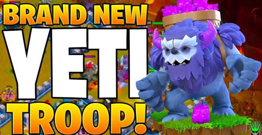 THE NEW YETI TROOP IS A BEAST! – Clash of Clans by Clash Bashing!!