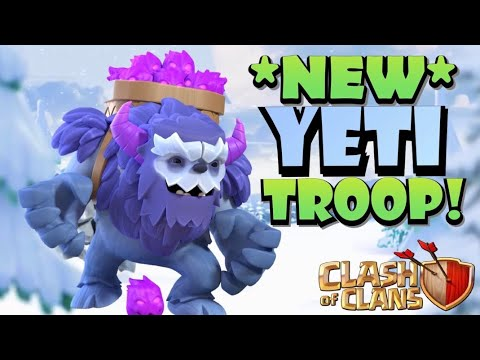 NEW TH13 YETI TROOP! Exploring the New YETI Troop – TH13 Sneak Peak #4 by Clash with Eric – OneHive