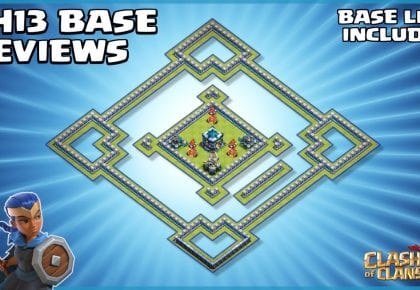 *ANTI FUNNEL* Town Hall 13 Base – With TH13 BASE LINK & REPLAYS – Clash of Clans by Sir Moose Gaming