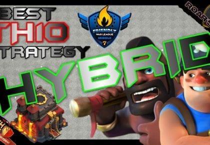 *The HYBRID* Best TH10 Strategy | FWL | Clash of Clans by Roar's War