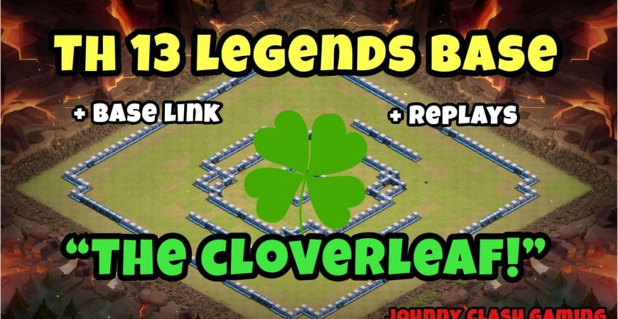 TH 13 Legends Base with Replays! | Anti-3 Star | Johnny Clash Gaming 2020 | Clash of Clans by Johnny Clash Gaming
