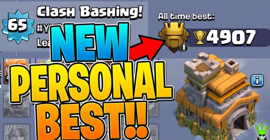 NEW PERSONAL BEST ON THE TH7 PUSH TO LEGENDS!! – Clash of Clans by Clash Bashing!!