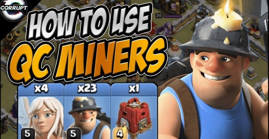TH11 Queen Charge Miner – FULL Breakdown | How to Use Queen Charge Miners | Clash of Clans by CorruptYT
