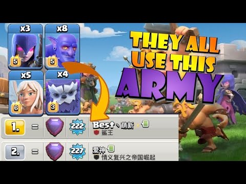 BEST PLAYERS USE THIS! TH13 Yeti Bowitch is the BEST TH13 Attack Strategy for Legends League by Clash with Eric – OneHive