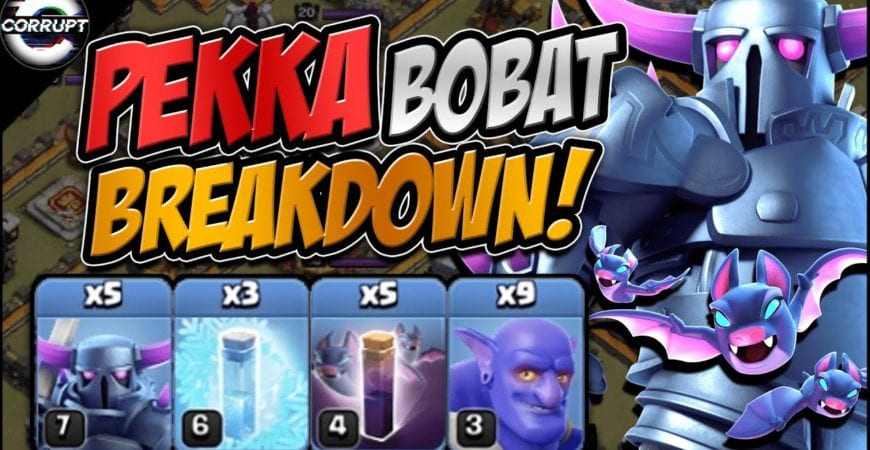 SMASH Bases With TH11 Pekka Bobat | How to Use Pekka Bobat | Clash of Clans by CorruptYT