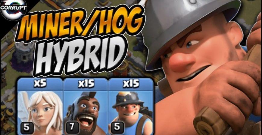 TH11 Miner Hog Hybrid – FULL Breakdown | Hybrid Made Easy | Clash of Clans by CorruptYT
