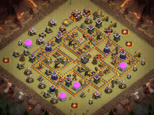 Best TH10 Anti 3 Star War Base 2020 - YouTube: Endymion Clash of Clans