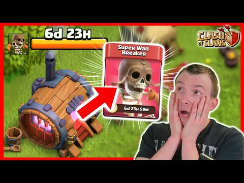 OMG WE GOT SUPER TROOPS!!! *Clash of Clans* by Judo Sloth Gaming