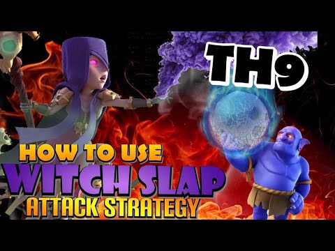 WITCHES ARE UNSTOPPABLE! TH9 Witch Slap and GoWiWi – Best TH9 Attack Strategy in Clash of Clans by Clash with Eric – OneHive