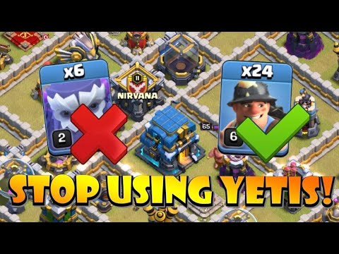 TH12 YETIS SUCK! TH12 Queen Charge Miners is the Strongest TH12 Attack Strategy 2020 in CoC by Clash with Eric – OneHive