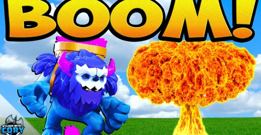 5 Ways to Use YETI BOMB in Clash of Clans! NEW TH13 & TH12 Yeti Blimp Attack Strategy 2020 by Clash With Cory
