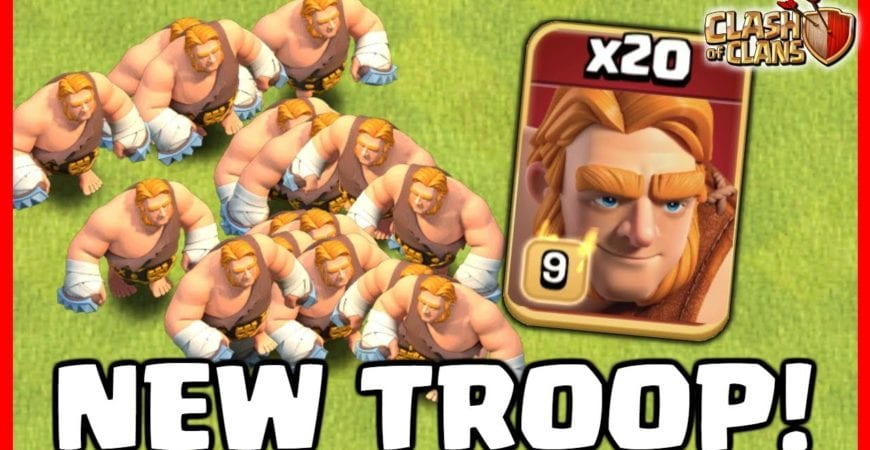 GIANTS ARE GOING SUPER IN CLASH OF CLANS! by Judo Sloth Gaming