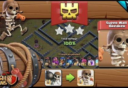 NOWY oddział! Super Wall Breakers! Sneak Peek | Clash of Clans od CarbonFin Gaming