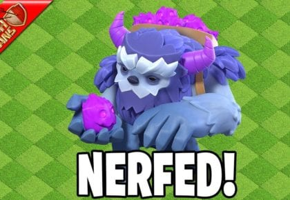 YETI'S ARE GETTING NERFED!! – Clash of Clans by Clash Bashing!!