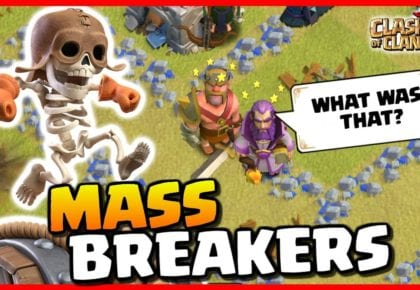MASS SUPER WALL BREAKERS…OK! by Judo Sloth Gaming