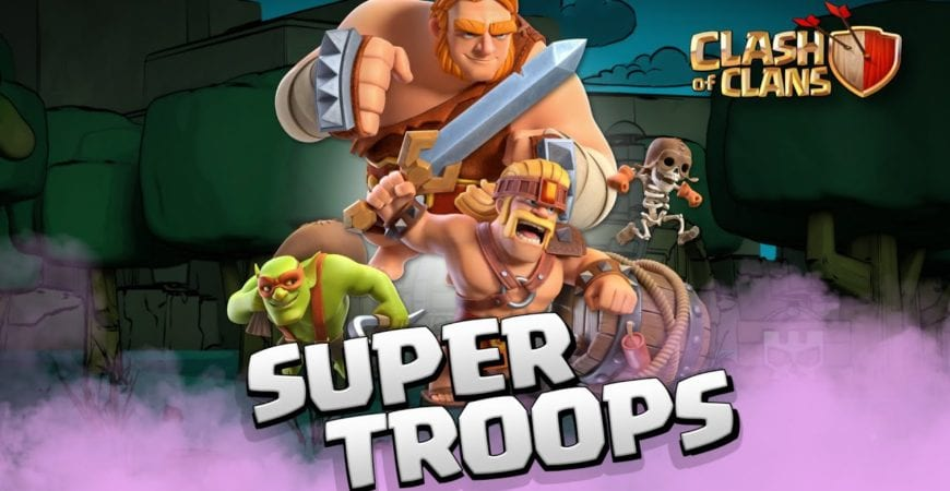 The SUPER TROOPS Are Here! Clash of Clans NEW Spring Update 2020 by Clash of Clans