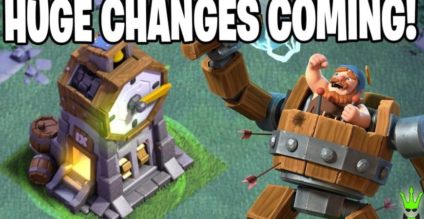BUILDER BASE IS GETTING SOME HUGE CHANGES – Clash of Clans by Clash Bashing!!