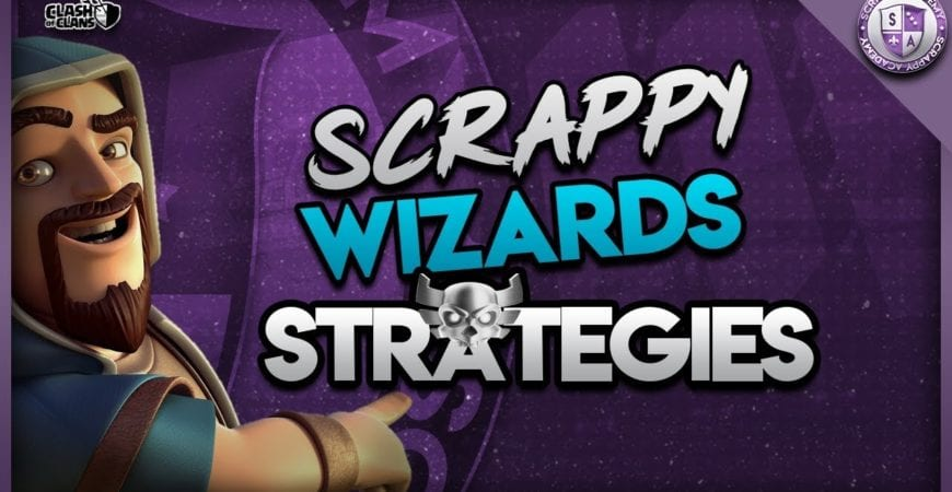 Best War Attacks From Scrappy Wizards [TH10 to TH13] | Clash Of Clans by Scrappy Academy