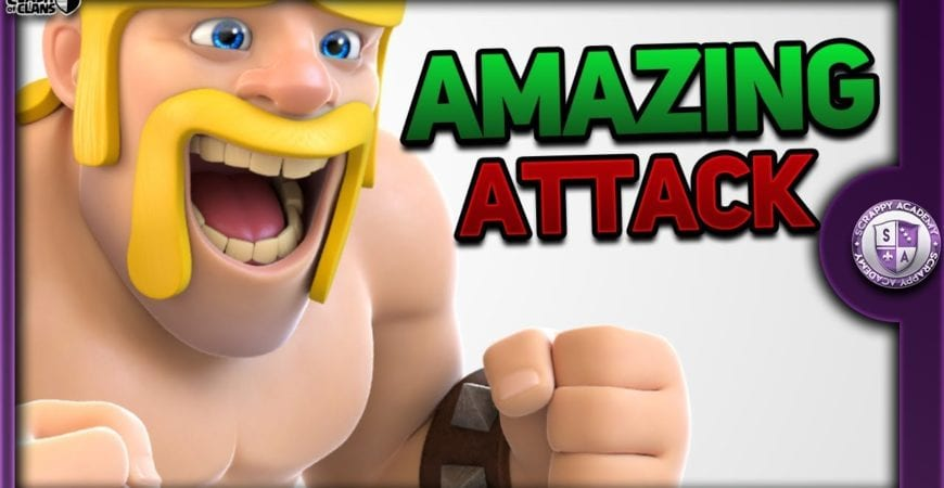 Amazing [TH10] Strategy | Clash Of Clans by Scrappy Academy
