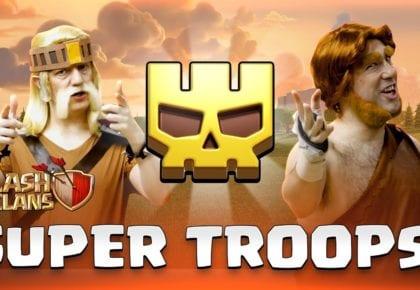 Aktualizacja Dev Super Troops - Wiosenna aktualizacja 2020 - Clash of Clans