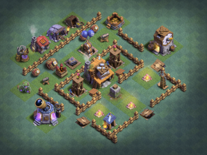 The MOST EFFECTIVE Builder Hall 4 Layout!!!