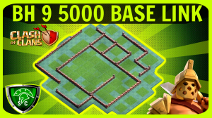 *New BH9 * Epic Builder Hall 9 Base *5000*