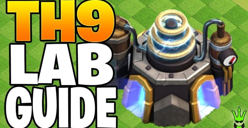 TOWN HALL 9 LAB GUIDE FOR 2020! – Clash of Clans by Clash Bashing!!