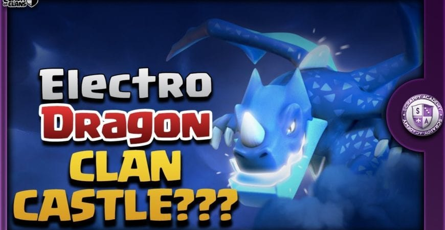 TH9 Electro Dragon Attacks | Best Clan Castle Troop? by Scrappy Academy