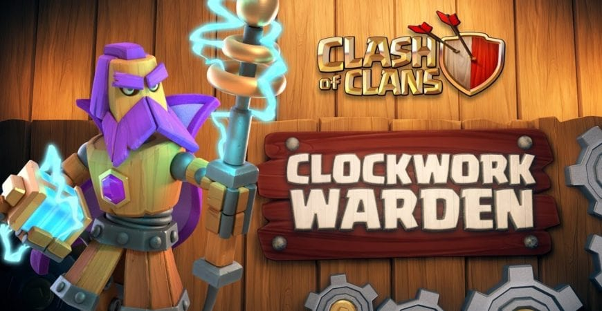 Clash of Clans: Clockwork Warden (April Season Challenges | Clashy Constructs #1) by Clash of Clans